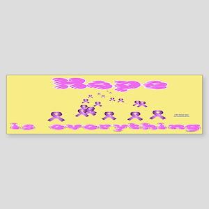 Hope 4 Pancreatic Cancer Sticker (Bumper)