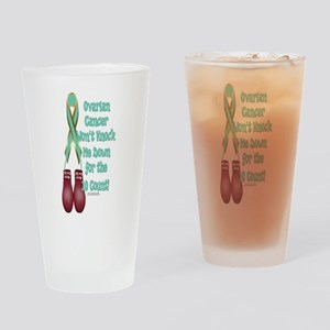 Ovarian Cancer KO Drinking Glass