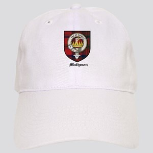 Matheson Clan Crest Tartan Cap