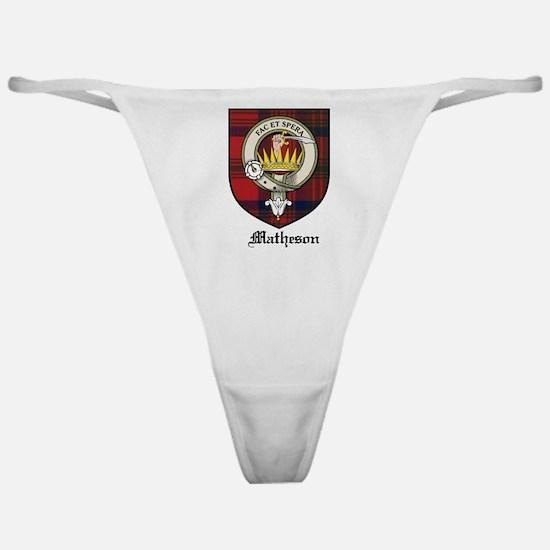 Matheson Clan Crest Tartan Classic Thong