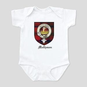 Matheson Clan Crest Tartan Infant Bodysuit