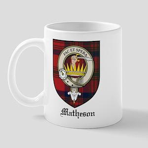 Matheson Clan Crest Tartan Mug