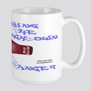 Fight Stomach Cancer Large Mug