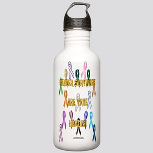 Cancer Survivors Stainless Water Bottle 1.0L