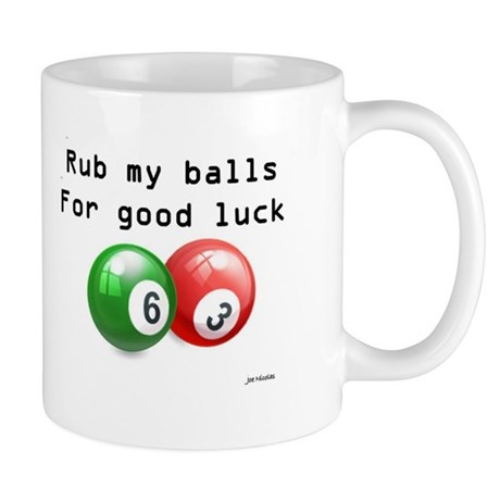 Rub My Balls Mugs