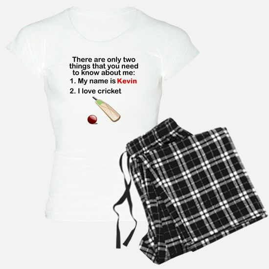 Two Things Cricket pajamas