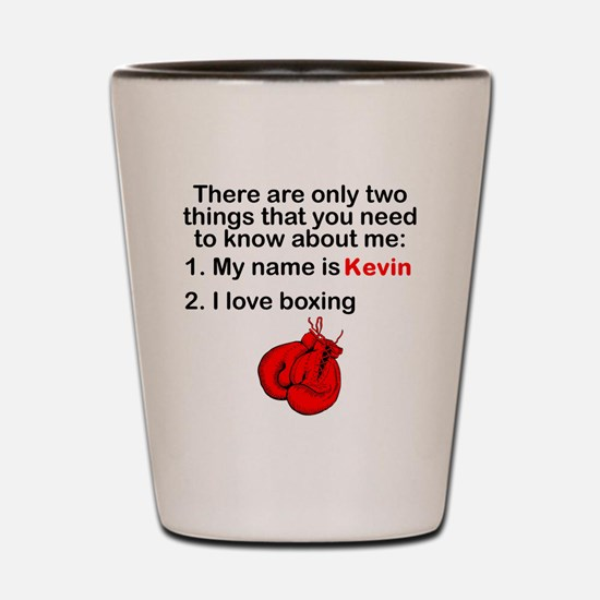 Two Things Boxing Shot Glass