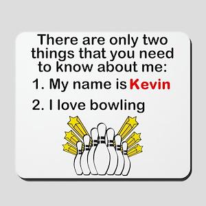 Two Things Bowling Mousepad