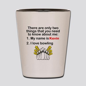 Two Things Bowling Shot Glass