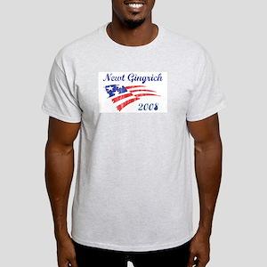 Newt Gingrich (vintage) Light T-Shirt