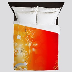 Christmas Tree Queen Duvet