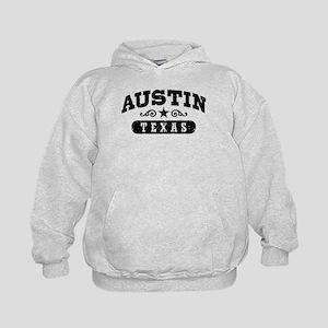Austin Texas Kids Hoodie