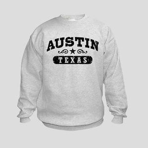 Austin Texas Kids Sweatshirt