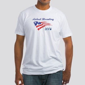 Michael Bloomberg (vintage) Fitted T-Shirt