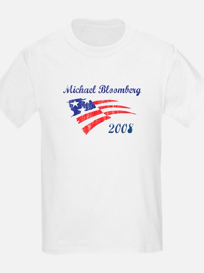 Michael Bloomberg (vintage) Kids T-Shirt