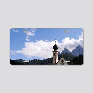 Beautiful isolated lonely c Aluminum License Plate