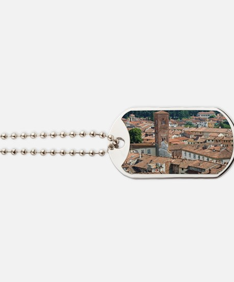 View of Lucca from Torre Guinigi, Lucca,  Dog Tags