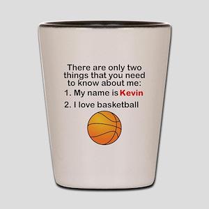 Two Things Basketball Shot Glass