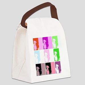 mochiwarhol Canvas Lunch Bag