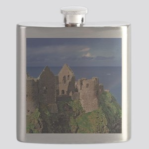 Dunluce Castle on the Antrim Coast in Co. An Flask