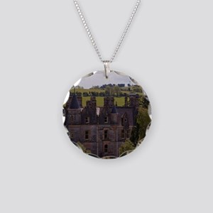 The Blarney House on the gro Necklace Circle Charm