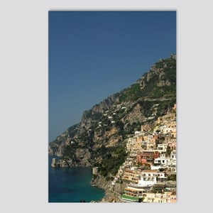 Positano. Colorful coasta Postcards (Package of 8)