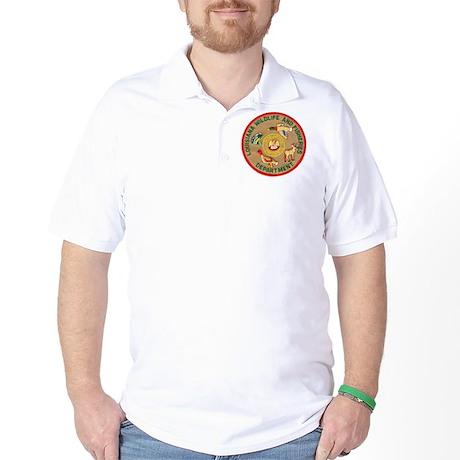 Louisiana Game Warden Golf Shirt