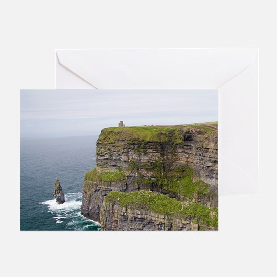 On the west coast of Ireland spectac Greeting Card