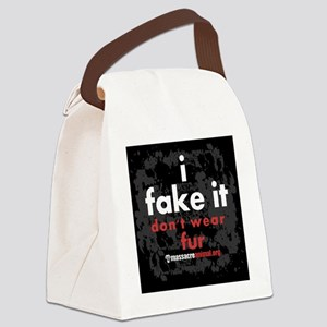 i-fake-it-pins-03 Canvas Lunch Bag