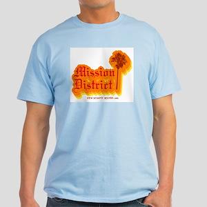 Mission District Light Blue T-Shirt