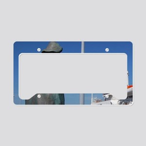 Silver Seas Expeditions Princ License Plate Holder