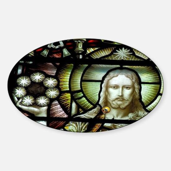 St. Patrick's Cathedral. Sticker (Oval)