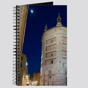 Baptistry at dusk, Parma, Emilia-Romagna,  Journal