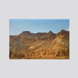 Israel. Judean Desert scenery. Rectangle Magnet