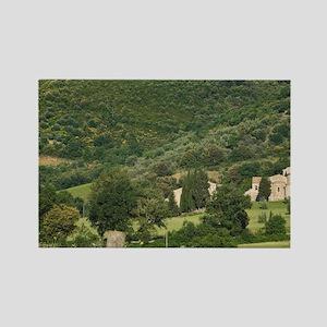 Abbazia di Sant'Antimo (St. Antim Rectangle Magnet