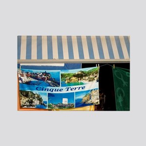 Monterosso. Souvenir stand with t Rectangle Magnet