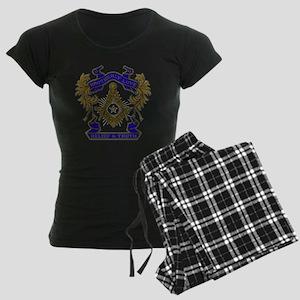 Masonic Brotherly Love Women's Dark Pajamas