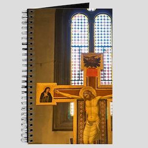Chiesa San Felice in Piazza, Crucifix of B Journal