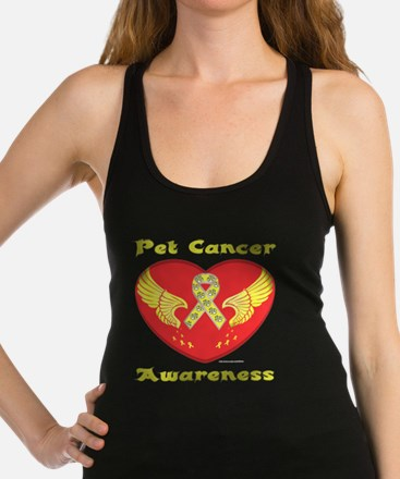 Beat Pet Cancer Racerback Tank Top