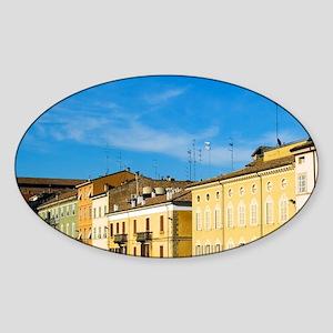 Italy, Parma, Viale Mariotti Sticker (Oval)