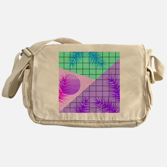Unique Tropical shopping Messenger Bag
