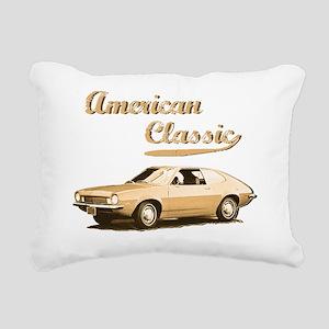 American Classic Rectangular Canvas Pillow