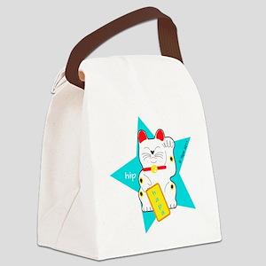 hapaTeezManeki2 Canvas Lunch Bag
