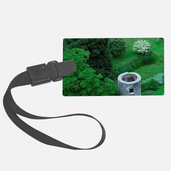 Blarney Castle. Overview from ca Large Luggage Tag
