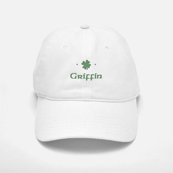 """""""Shamrock - Griffin"""" Baseball Baseball Cap"""