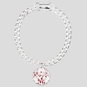 zombieskillingZ Charm Bracelet, One Charm