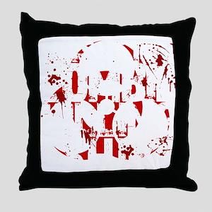 zombieskillingZ Throw Pillow