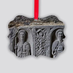 Medieval stone carving of Saints  Picture Ornament