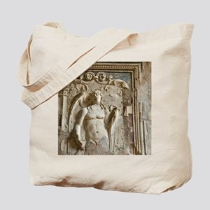 Italy, Campania, Pompeii. Detail of wall  Tote Bag