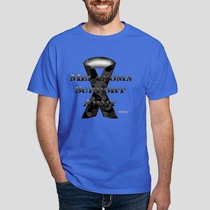 Melanoma Support Army Dark T-Shirt